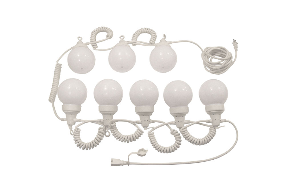 35 ft. Party Tent Globe Lights