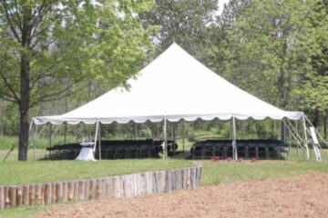 Pole Tent - No Sides 2