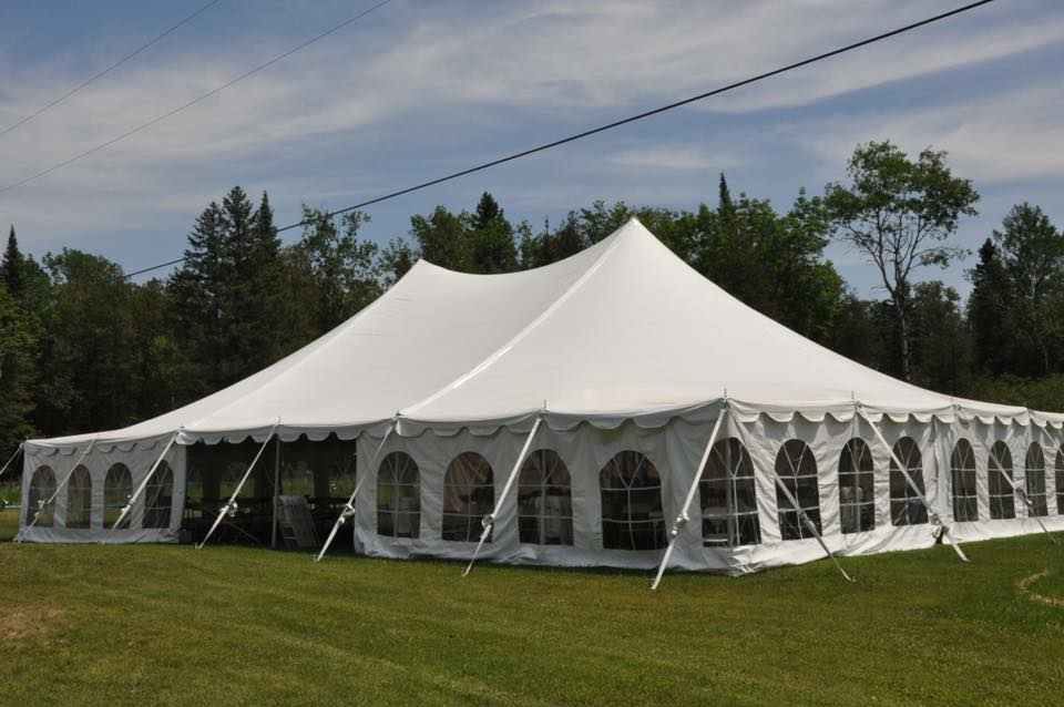 Event Tent w/Windowed Sides