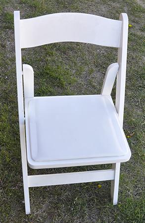 White Wooden Chair